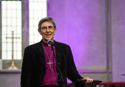 Bishop Tim Daykin welcome live- stream church services