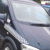 Fake taxi caught in Eastleigh