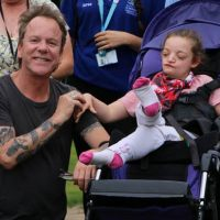Kiefer Sutherland makes surprise visit to regions hospices for children and young adults
