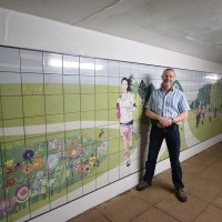 Fleming Park underpass receives much-needed makeover