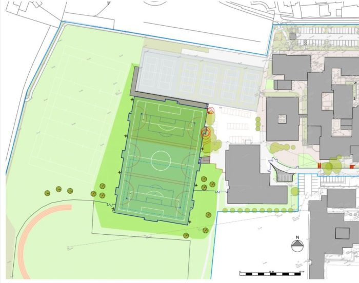 Wyvern all weather sports pitch