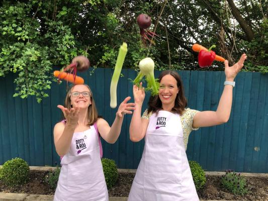 Katherine Bell and Hayley Murphy founders of Dotty Roo