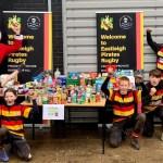 ERFC Juniors food bank donations