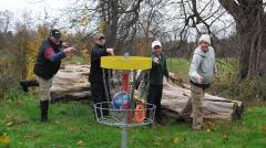 Croydon has the only disc golf course in the country that's free to use. Photo: Jim Barg
