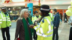Police join forces with the community to reduce crime. Photo: Susannah Law