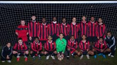 Hackney & Tower Hamlets School Team are through to the last 16 of the Under-15s FA Trophy. Photo: Stewart Brown