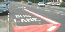 Motorists have been fined for driving on bus lanes. Photo: Flickr