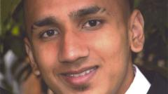 Murdered Adam Pervaiz had planned to become a firefighter. Photo: Metropolitan Police