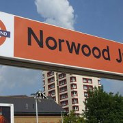 Norwood Junction station sign