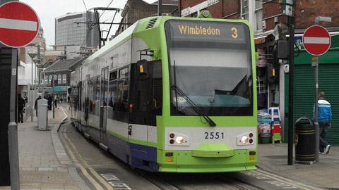 Tram Croydon