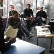 reading at new cross people's library