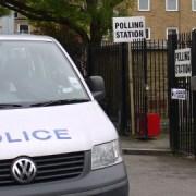 St Matthias School Polling Station in Bethnal Green. Photo: Alex Bishop