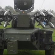 Rapier Missiles on Blackheath common. Photo: Delores William