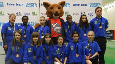 Hackney Under-13's cricket team Pic: Lynn Humphrey