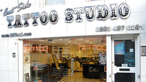 Pic: East Side Tattoo Studio
