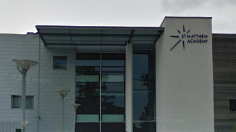 St Matthew Academy Blackheath 'Good' rating from Ofsted. Pic: Google
