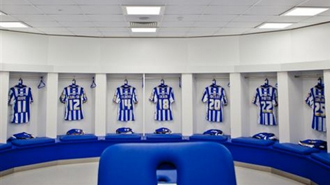 Brighton and Hove Albion FC conduct tours of their new Amex Stadium: Pic seagulls.co.uk