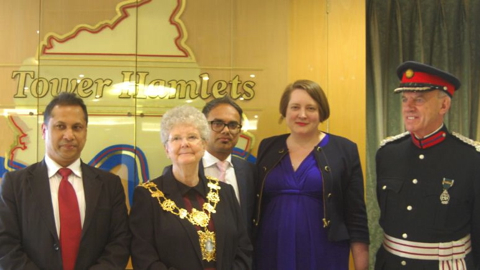 Pic: Tower Hamlets Labour Party