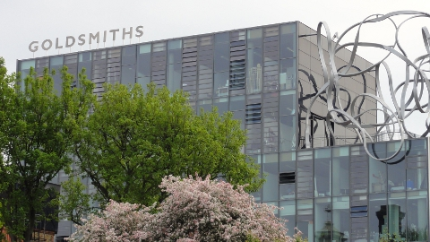 The Ben Pimlott Building, Goldsmiths, University of London. Pic: Victoria Galvin