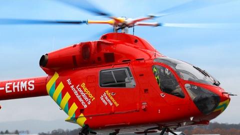 London's Air Ambulance. Pic: HEMS