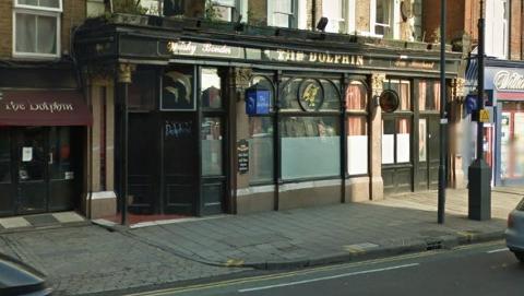 The Dolphin Public House, Mare Street E8. Pic: Google