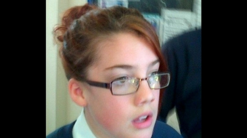 The picture of Tia Sharp released by her family and the Met Police during the search for her in August 2012
