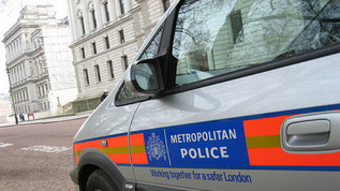 "Metropolitan Police ""Working for a safer London"" Pic: Met Police"