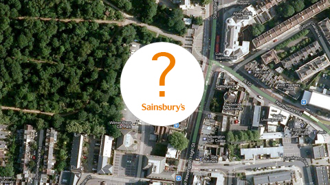 Will there be a Sainsbury's at Wilmer Place Pic: