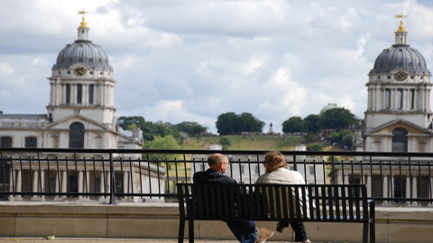 The view from Island Gardens Pic: Tower Hamlets Council