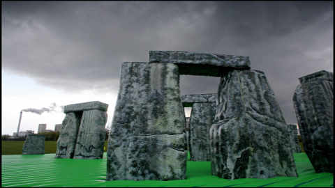 Jeremy Deller's Sacrilege first appeared at the Glasgow International Festival.