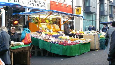 Surrey Street Market: Bill Topping CC.