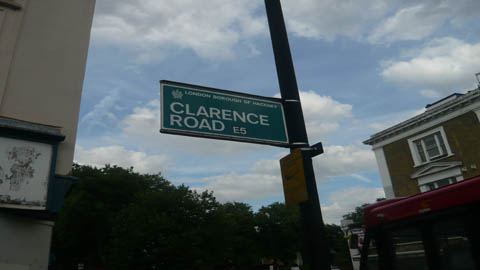 Clarence Road in Hackney Central Photo: Benita Adesuyan