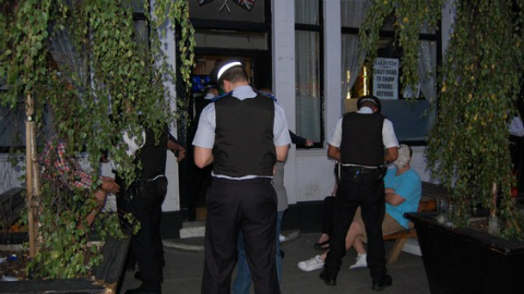 Previous operation in July. Photo: The Metropolitan Police.