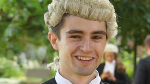 Gianni Sonvico. Pic: Queen Mary Student Lawyer website