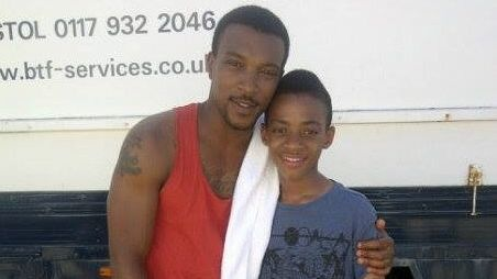 JDF star with Ashley Walters - cred JDF Management