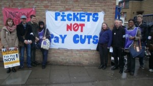 Pickets not pay cuts Jack Simpson