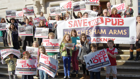 Save the chesham gimpe