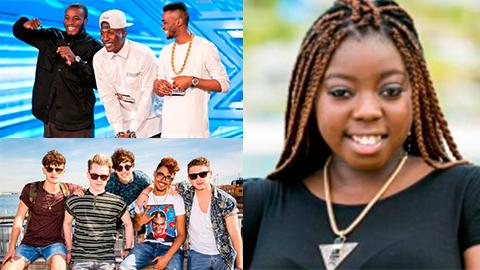 ELL X Factor acts Rough Copy, Kingsland Road and Hannah Barrett