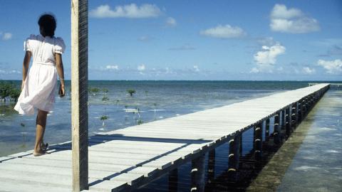 Belize coast. Pic: Grant Fleming