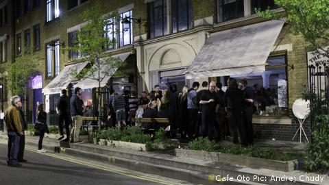 Cafe Oto Pic: Andrej Chudy