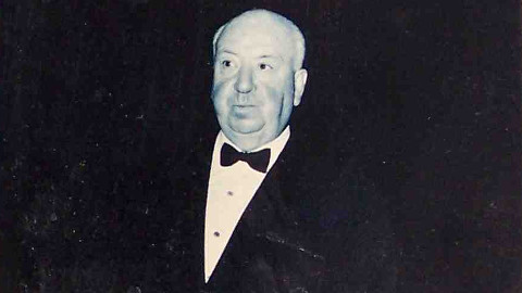 Alfred Hitchcock. Pic: Chris Drumm