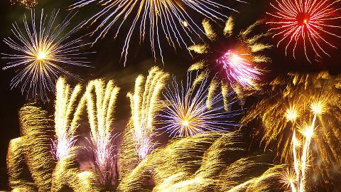 Firework display. Pic: Billy Hicks