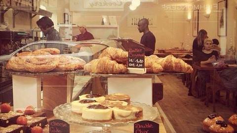 Bienvenue, the new Halal patisserie in Stoke Newington. Pic: Bienvenue