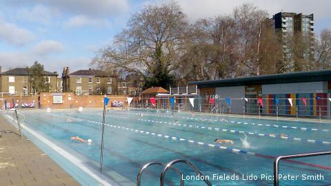 London Fields Lido Pic: Peter Smith