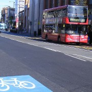Mile End Cycling Superhighway Pic: