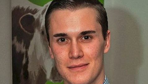 Moritz Erhardt, was found dead in his flat in August. Photograph: Social media