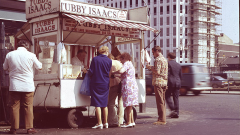 Tubby Isaacs. Pic: Cass East End Archive