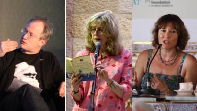 Robin Ince, Deborah Moggach and Jill Dawson to speak at WI festival.  Pics: Michael Josephson, PalFest and Ubud Writers Festival