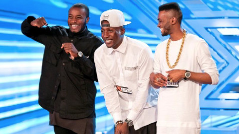 Rough Copy into next week's round after their rendition of Ray Charles' 'Hit The Road Jack'. Pic: ITV