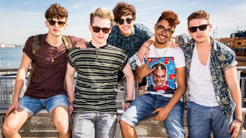 Kingsland Road voted off X Factor. Pic: ITV